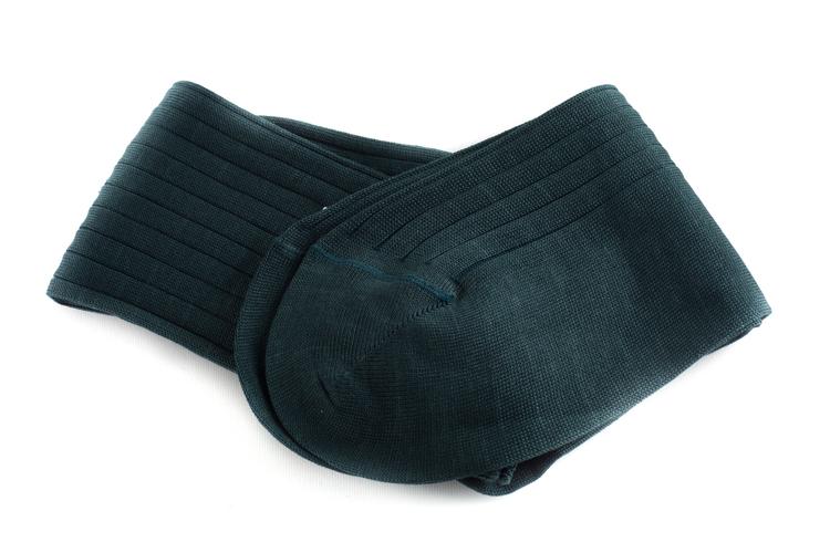 Cotton Socks - Dark Green