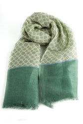 Scarf Medallion - Green