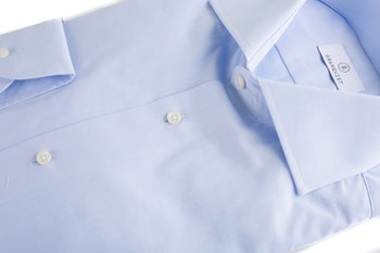 Fine Pinpoint Oxford Shirt - Light Blue