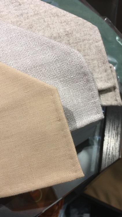 Linen Untipped Solid - Beige