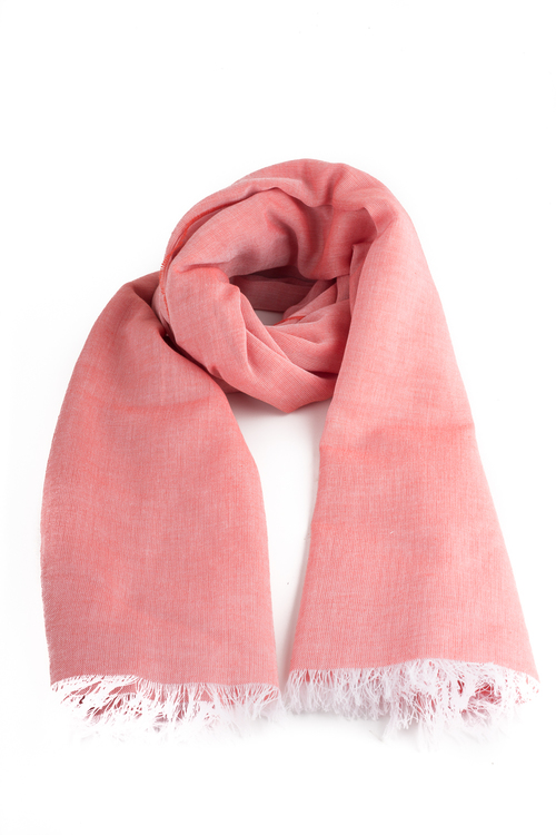 Scarf Cotton Solid - Apricot