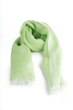 Scarf Solid - Apple Green
