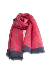 Scarf Polka Dot - Red/Light Blue/Navy Blue