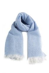 Scarf Solid Cashmere - Light Blue