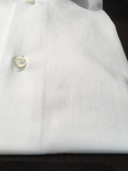Solid Fine Twill Shirt - White