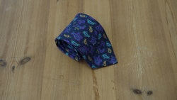 Printed Paisley - Navy Blue/Turquoise/Purple/Yellow