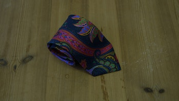 Printed Paisley - Navy Blue/Red/Orange/Green/Blue