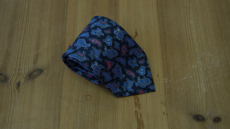 Printed Paisley - Navy Blue/Light Blue Blue/Pink