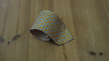Printed Floral - Yellow/Mid Blue/Beige