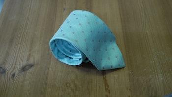 Silk Polka Dot - Turquoise/Beige