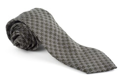 Wool Dogtooth - Olive Green/Grey