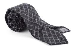 Wool Untipped Check - Dark Grey/Grey