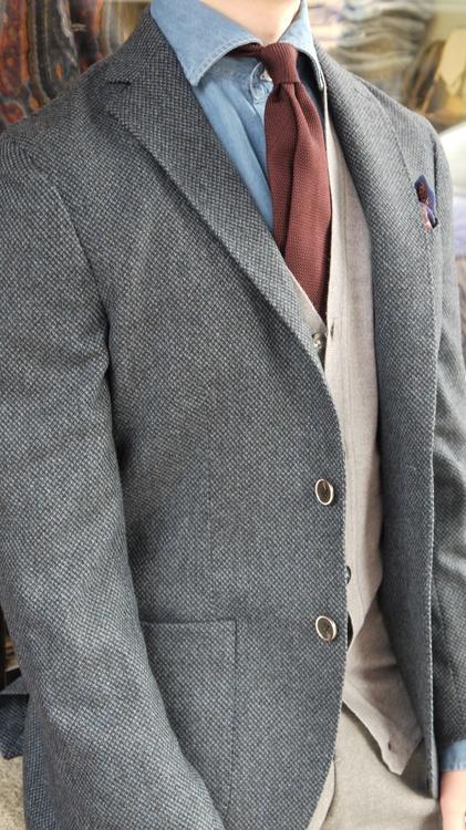 Vest Merino - Grey