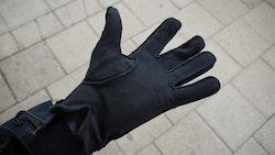 Suede Gloves - Navy