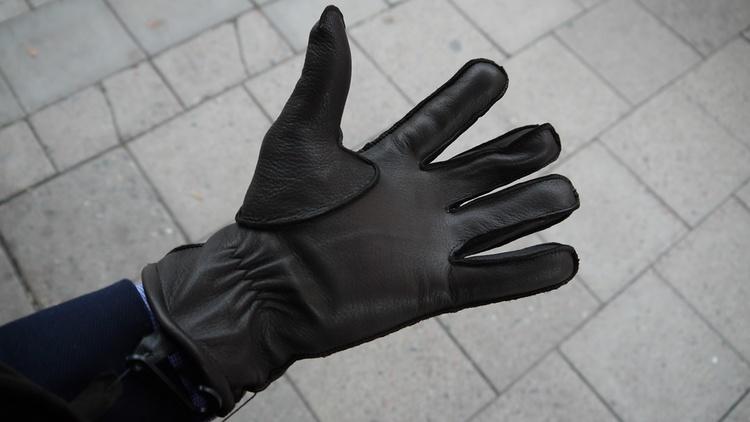 Deerskin Gloves - Brown