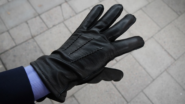 Deerskin Gloves - Black