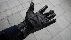 Lamb Leather Gloves - Black