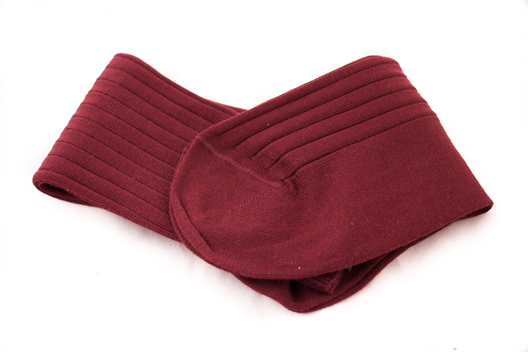 OTC Merino Socks - Burgundy