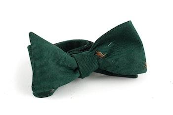 Goose Cotton/Silk Bow Tie - Green