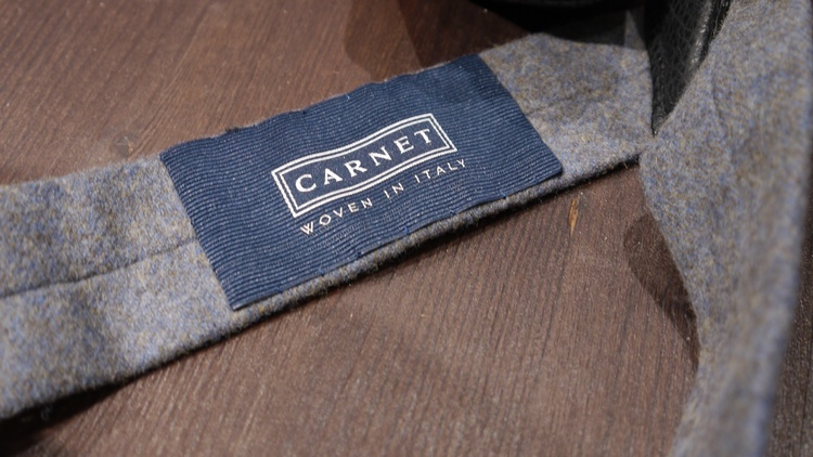 Solid Flannel Suspenders - Dark Grey