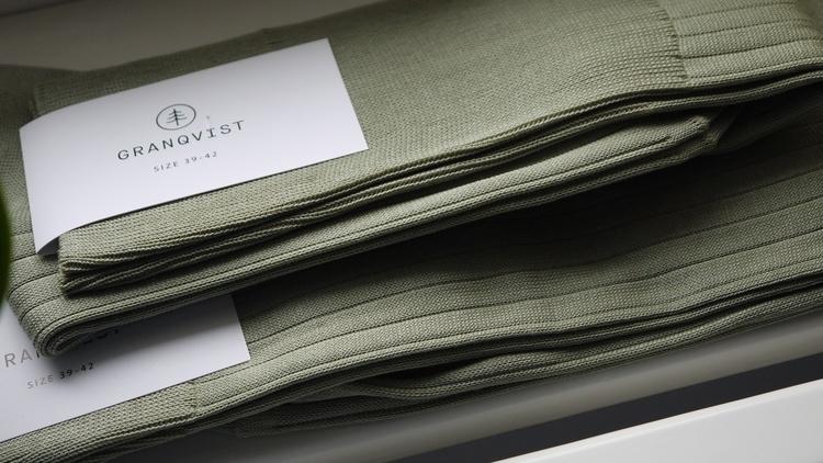 Cotton Socks - Africa Green