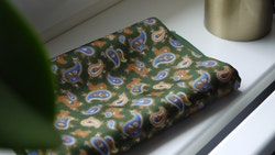 Paisley Silk Scarf - Green