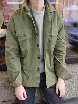 Overshirt Cotton - Olive Green
