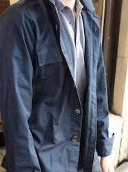 Overshirt Cotton - Navy Blue