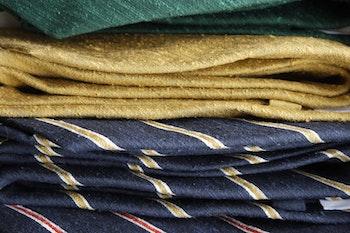 Solid Shantung Tie - Dark Green