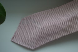 Solid Silk Grenadine Fina Tie - Untipped - Pink