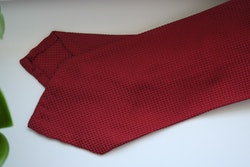 Solid Garza Silk Tie - Red
