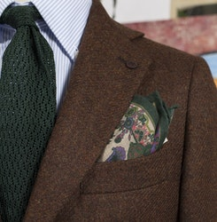 Solid Tweed Jacket - Rust (only size 48 left!)