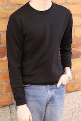 Crewneck Merino Pullover - Black