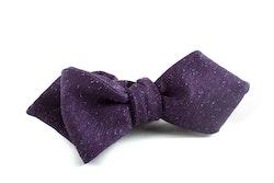 Solid Silk Bow Tie - Lilac