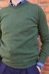 Crewneck Cashmere Pullover - Green
