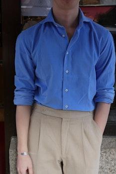 Babycord Shirt - Cutaway - Light Blue
