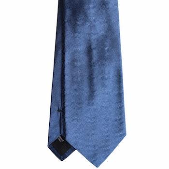Solid Rep Silk Tie - Mid Light Blue