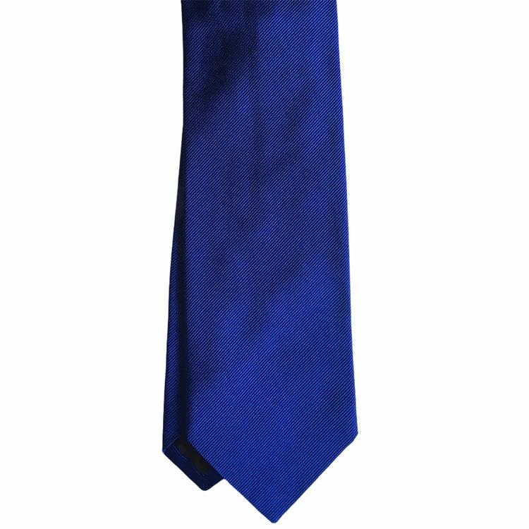 Solid Rep Silk Tie - Royal Blue
