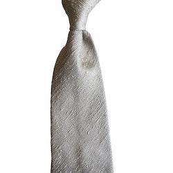 Solid Shantung Tie - Untipped - Beige