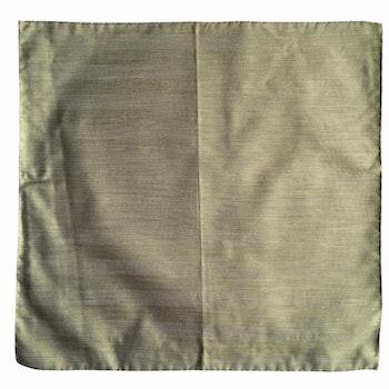 Solid Silk/Linen Pocket Square - Light Green