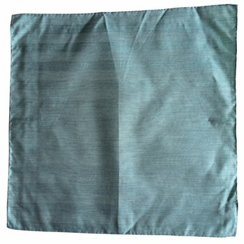 Solid Silk/Linen Pocket Square - Mint