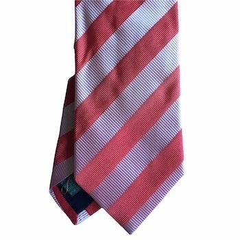 Regimental rep Silk Tie - Apricot