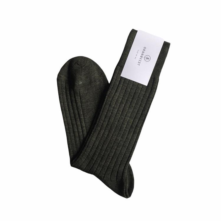 Merino Socks - Olive Green