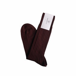 Merino Socks - Burgundy