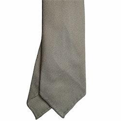 Solid Silk Grenadine Fina Tie - Untipped - Champagne