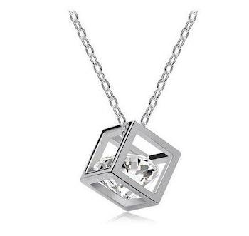 Halsband, Zirconia Style - Silverfärgad