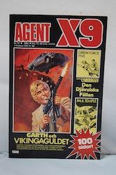 Serietidning Agent X9 Nr 10 - 1986