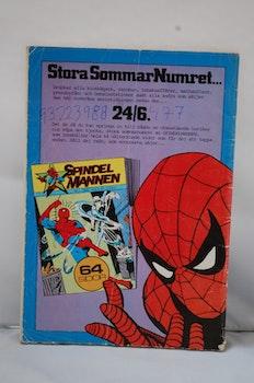 Serietidning Spindelmannen Nr 6 - År 1982