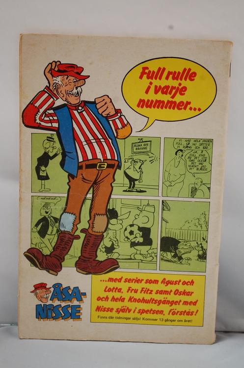Serietidning Stålmannen Nr 6 - År 1982