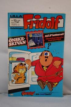 Serietidning Lilla Fridolf Nr 20 - År 1985